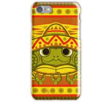 Sombrero Turtle! iPhone Case/Skin