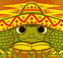Sombrero Turtle! Sticker