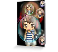 Jhope Chibi Greeting Card