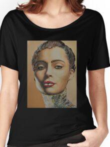 gold Women's Relaxed Fit T-Shirt