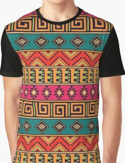 Geometric pattern in the ethnic style Graphic T-Shirt