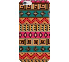 Geometric pattern in the ethnic style iPhone Case/Skin
