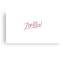Zoella! Canvas Print