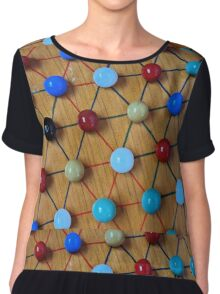 Chinese Checkers Chiffon Top