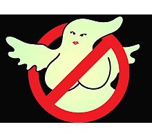 GHOSTBUSTER GIRL 2 Photographic Print