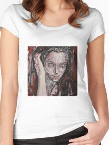 angelina Women's Fitted Scoop T-Shirt