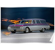 1962 Ford Country Squire Wagon Poster