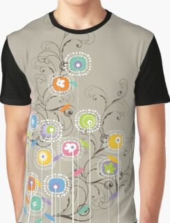 My Groovy Flower Garden Graphic T-Shirt