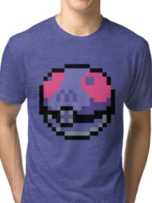 POKEMON MASTERBALL Tri-blend T-Shirt