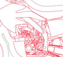 Honda CRF450X Rally Raid Sticker