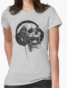 Music forever Womens Fitted T-Shirt