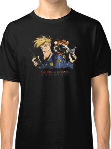 Calvin And Hobbes Private Investigation Classic T-Shirt