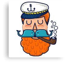 Moby Dick Beard Canvas Print