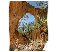Golden Gully Arch Poster