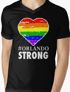 Orlando Strong One Pulse One Love  Mens V-Neck T-Shirt