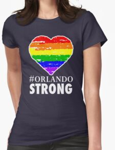 Orlando Strong One Pulse One Love  Womens Fitted T-Shirt