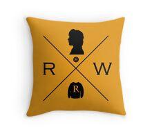 Hipster Potter Pals - Ron Throw Pillow