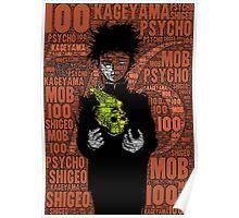 Kageyama Shigeo - Mob Psycho 100 Poster