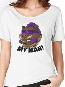 Bebop - My Man! Women's Relaxed Fit T-Shirt