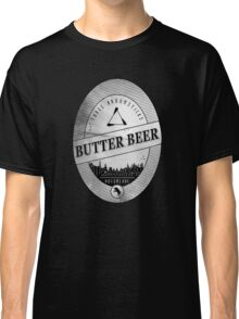 BUTTERBEER - Hogsmede Brew White Label  Classic T-Shirt