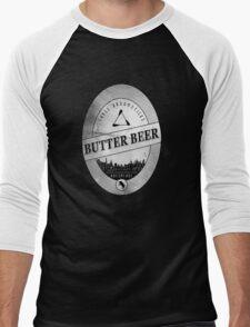 BUTTERBEER - Hogsmede Brew White Label  Men's Baseball ¾ T-Shirt