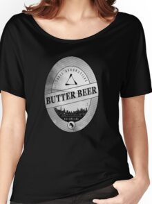 BUTTERBEER - Hogsmede Brew White Label  Women's Relaxed Fit T-Shirt