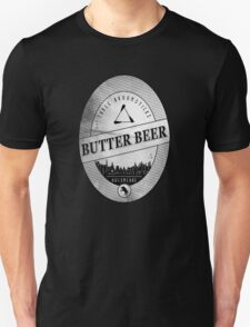 BUTTERBEER - Hogsmede Brew White Label  Unisex T-Shirt