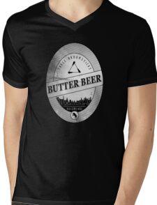 BUTTERBEER - Hogsmede Brew White Label  Mens V-Neck T-Shirt