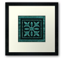 Spade Is A Spear Is A Leaf Framed Print