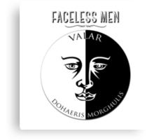 Faceless Men  Canvas Print