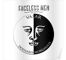 Faceless Men  Poster