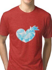 Space Patrol Luluco Crystal Heart Tri-blend T-Shirt