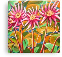 Waterlillies 2 Canvas Print