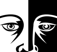 Faceless Men  Sticker