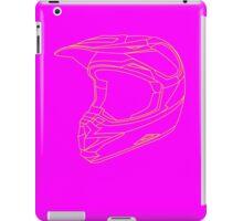 Mx Helmet Yellow iPad Case/Skin