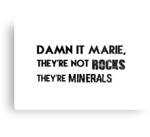 Damn it, Marie. Metal Print