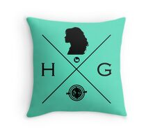 Hipster Potter Pals - Hermione Throw Pillow