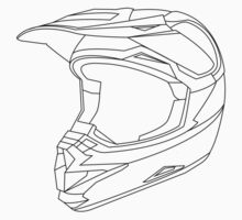 Mx Helmet Black by Tessai-Attire
