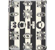 Boho eyes and sun. Tribal print iPad Case/Skin