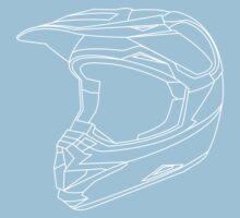 Mx Helmet White Kids Clothes