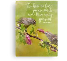 Matthew 10:31 Metal Print