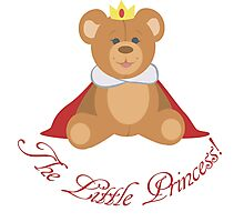 The Little Princess Photographic Print