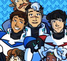 Family Portrait in Space Sticker
