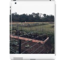 Community Gardens iPad Case/Skin