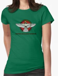 Anunnaki Earth Council Womens Fitted T-Shirt