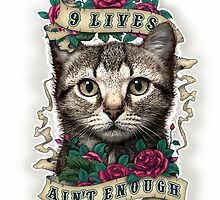 9 LIVES AIN'T ENOUGH (PART 2) by MEDIACORPSE