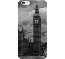 Big Ben - black & white iPhone Case/Skin