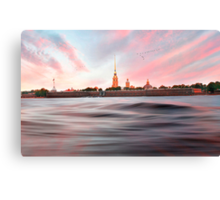 Peter & Paul Fortress Canvas Print