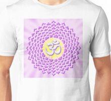 7th Chakra Symbol - Crown Unisex T-Shirt