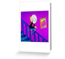 U K no I T   V A P O R Greeting Card